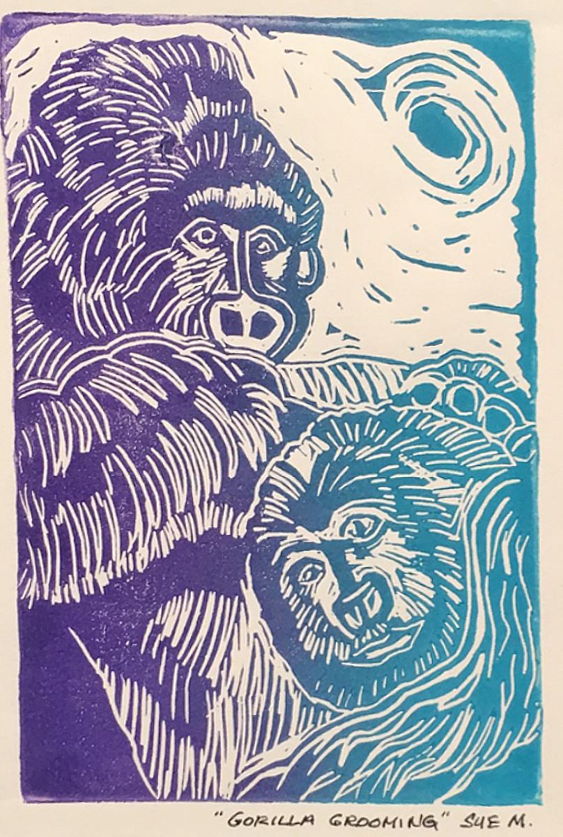 Gorilla Grooming Sue Miller.jpg