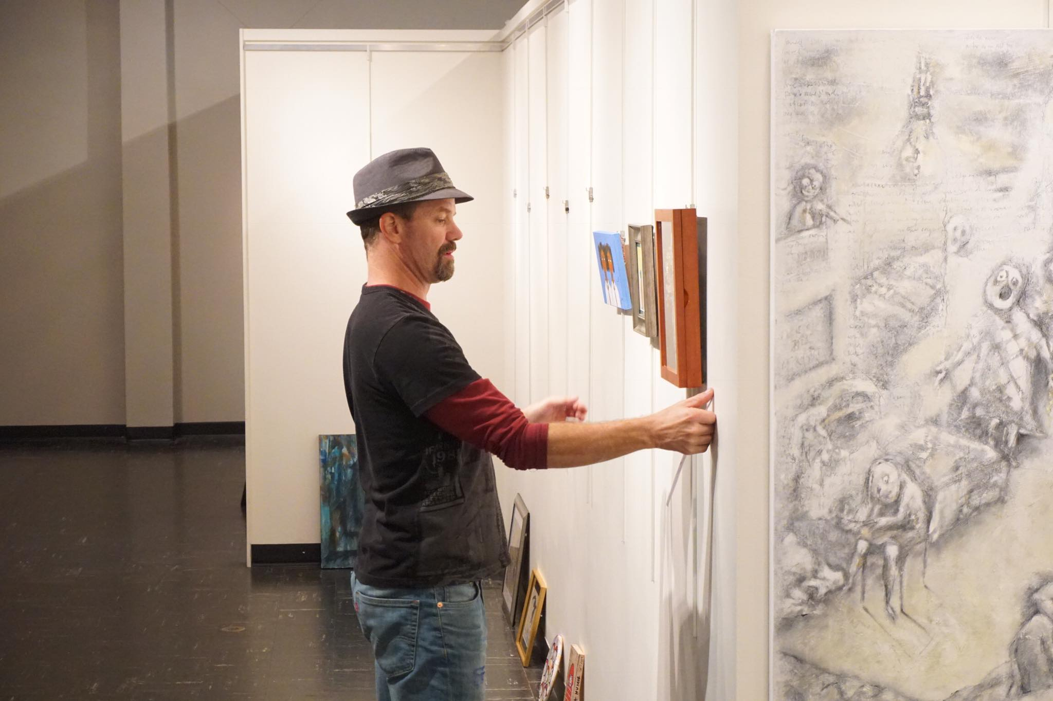 A/NT Gallery board member Ron Jones curates a new show