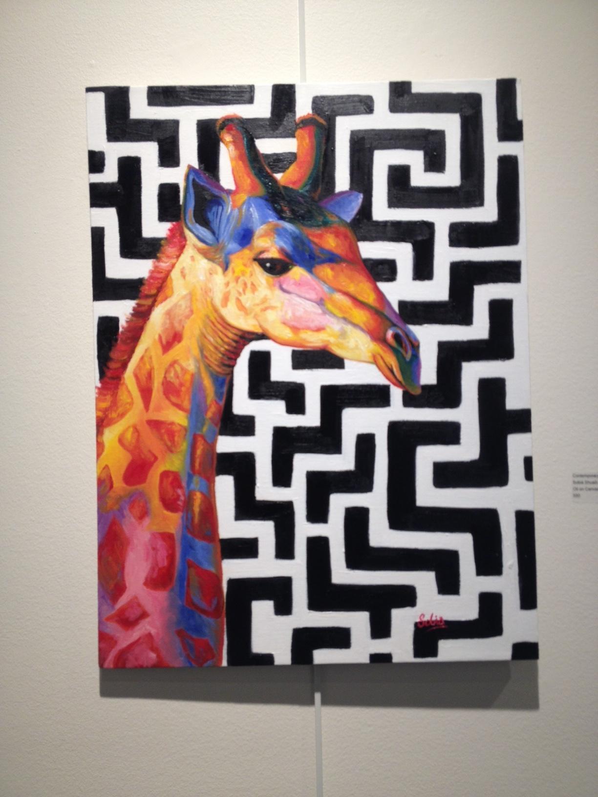 Contemporary Giraffe  Sobia Shuaib