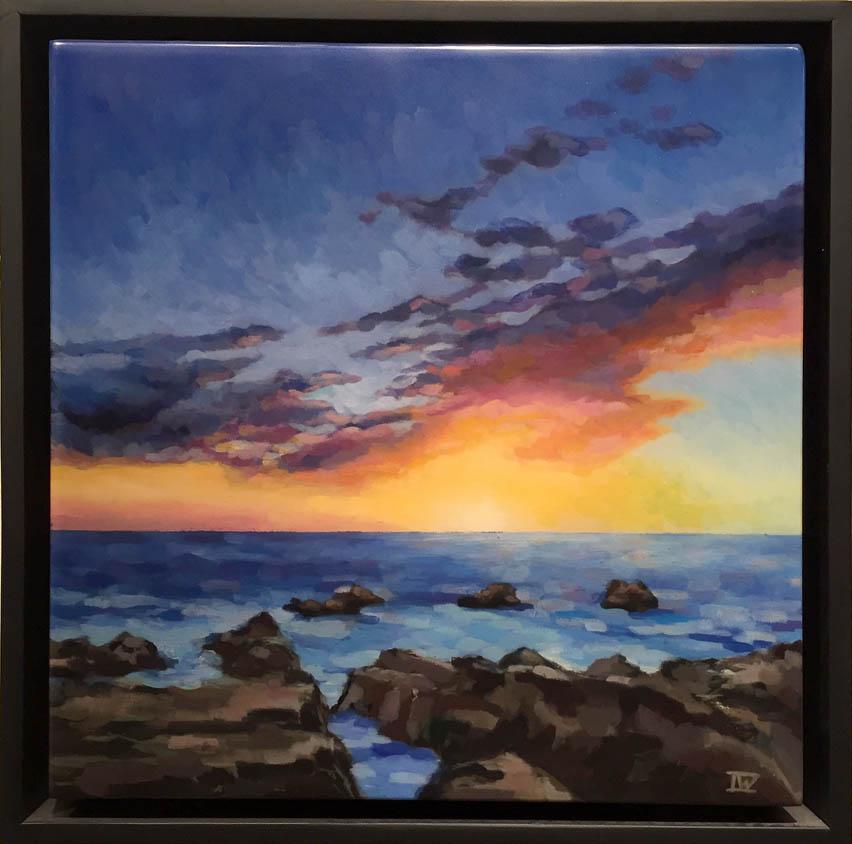 Sunset Over Rocks Irina Williams.jpg