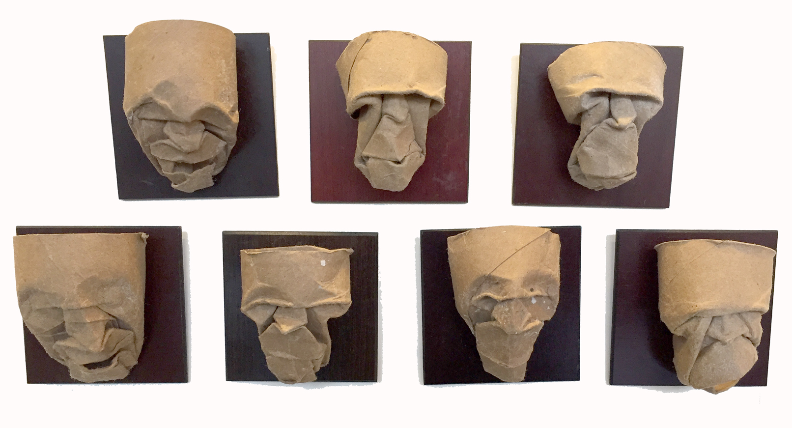 Masks Toilet Paper rolls Mike Berry.jpg