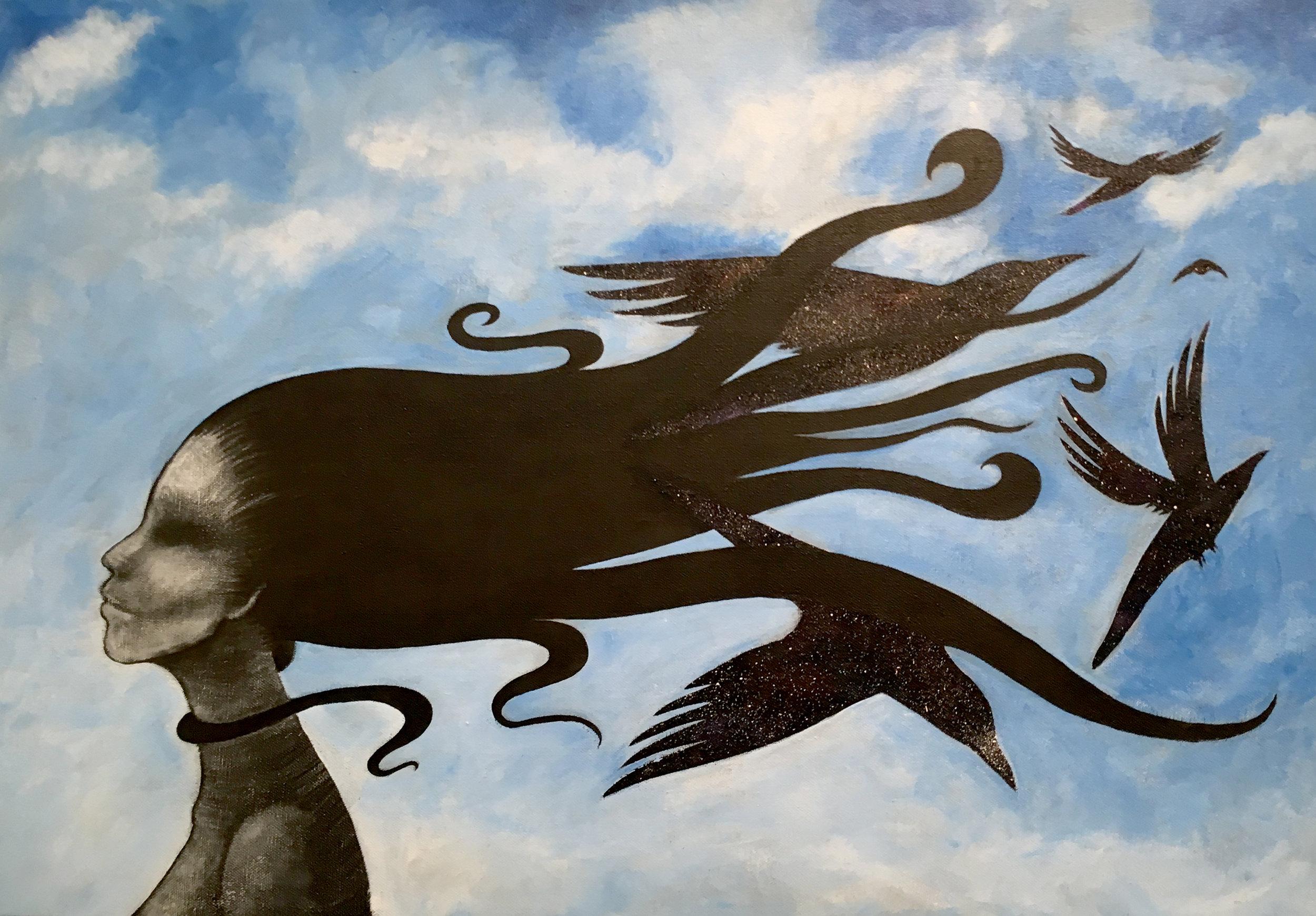 Dreaming of Magritte. Kamilla White.jpg