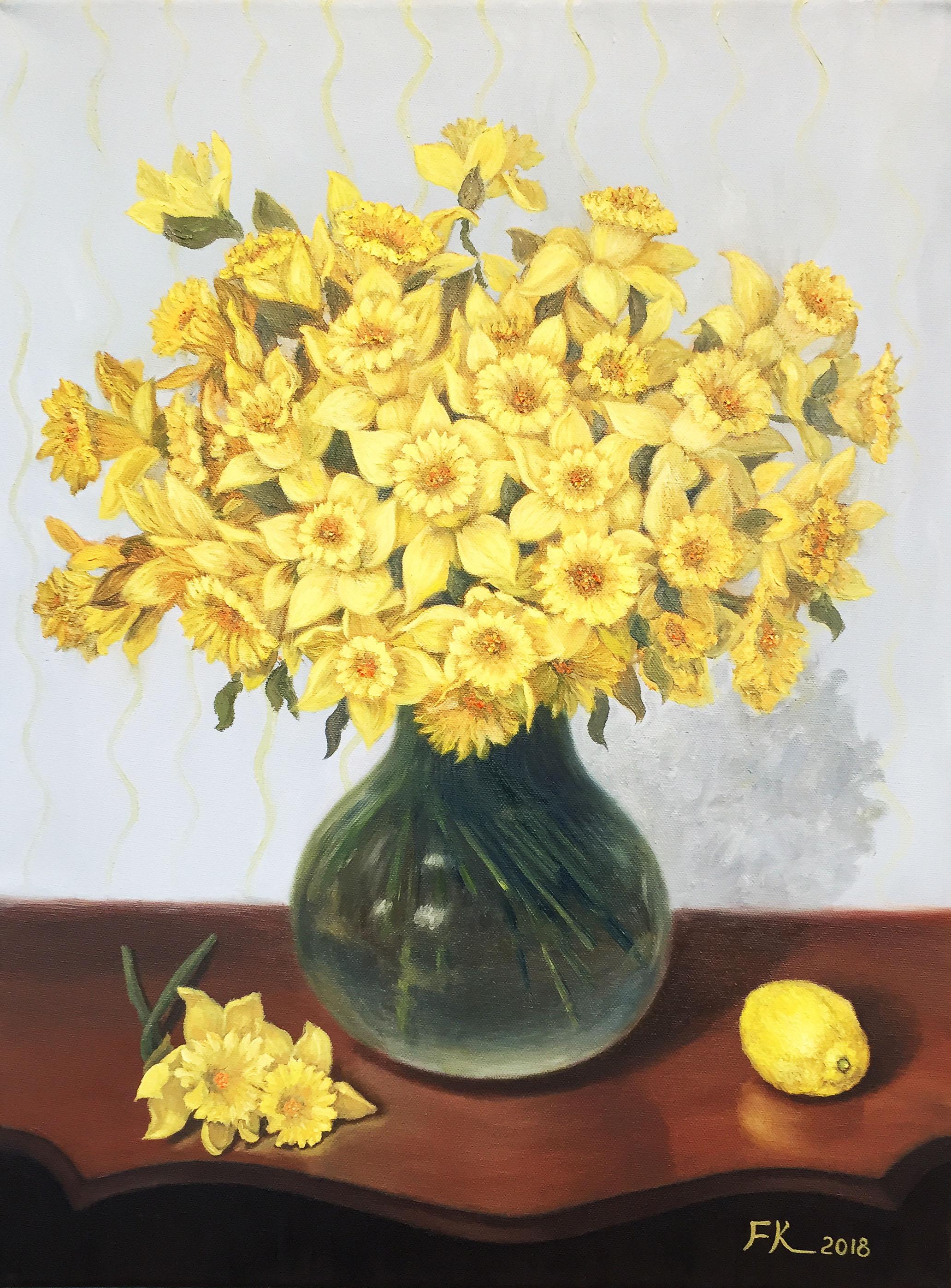 Daffodils! Francesca Kee.JPG