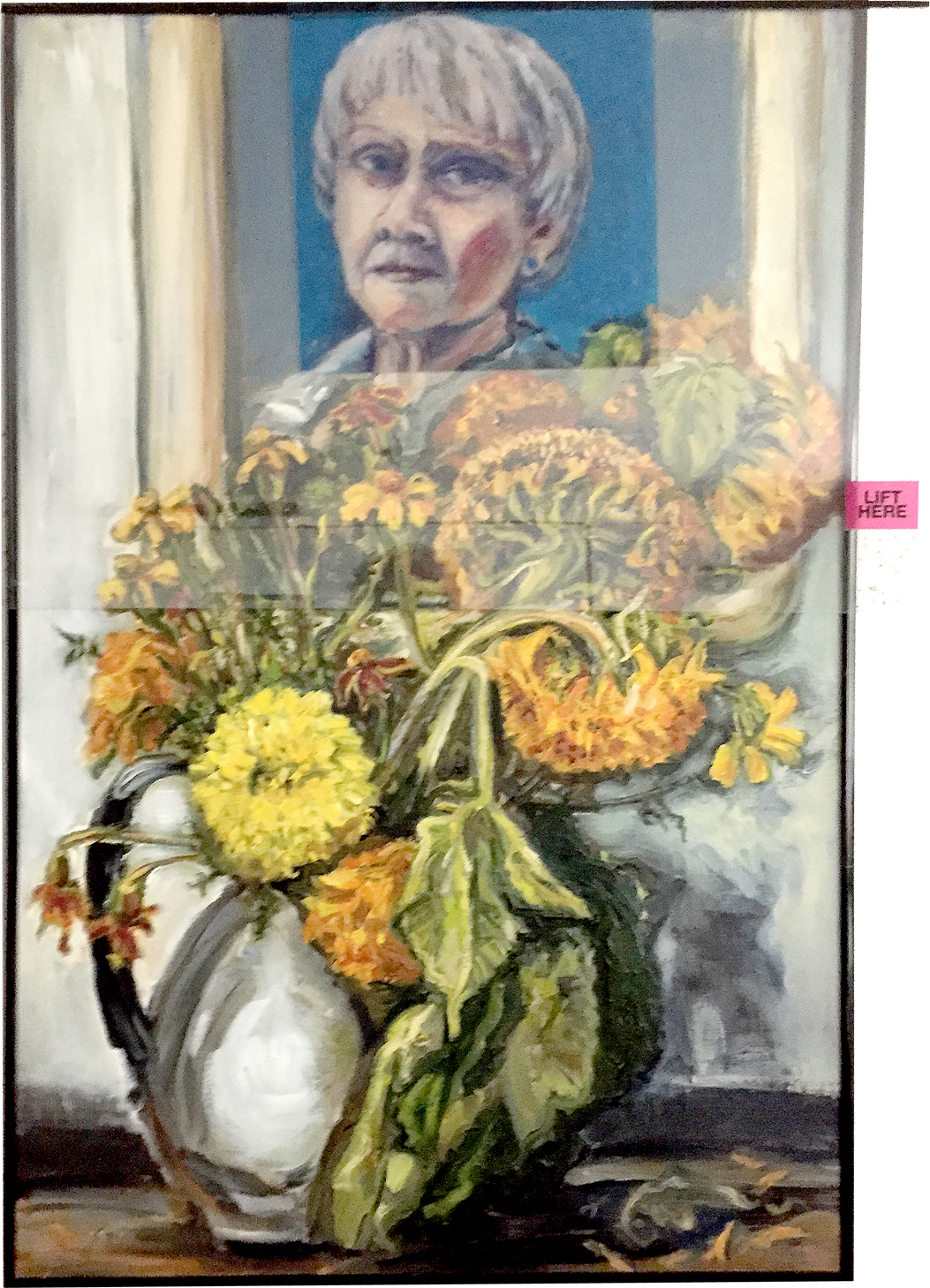Self Portrait Late Summer 2018-1987 Mary Hutchinson.JPG