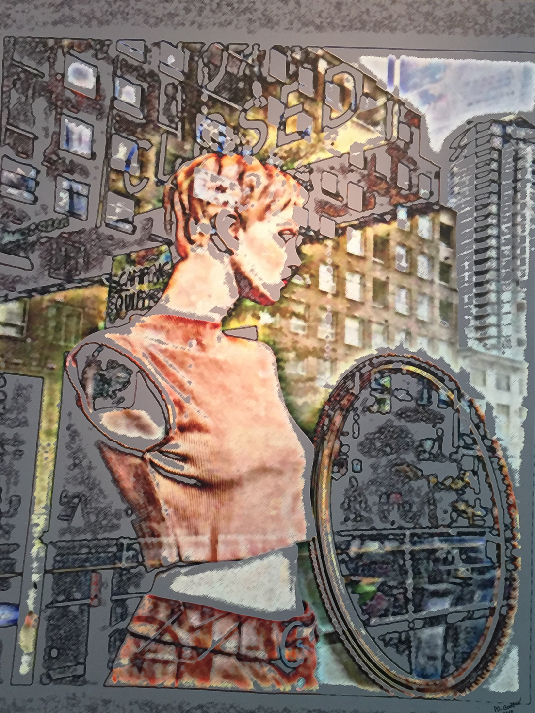 City Warrior- From Mannequin Series Mark Gordon copy.jpg