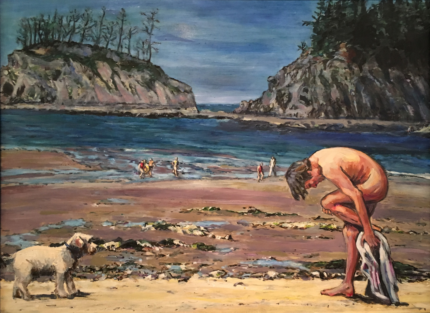 Bathers: Cape Arago Mary Hutchinson.JPG