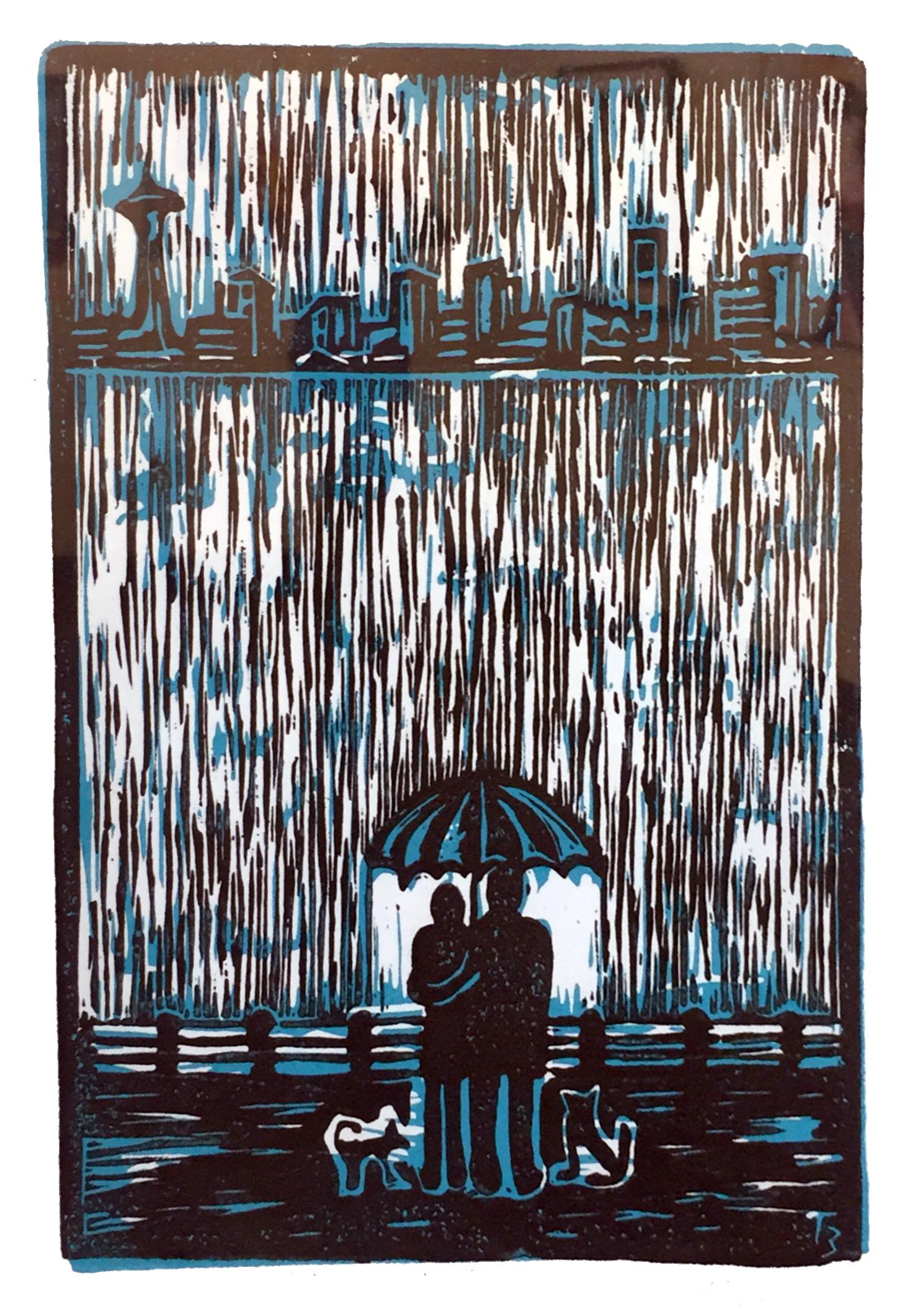Winter In Seattle Tatyana Brown Silk Screen.jpg