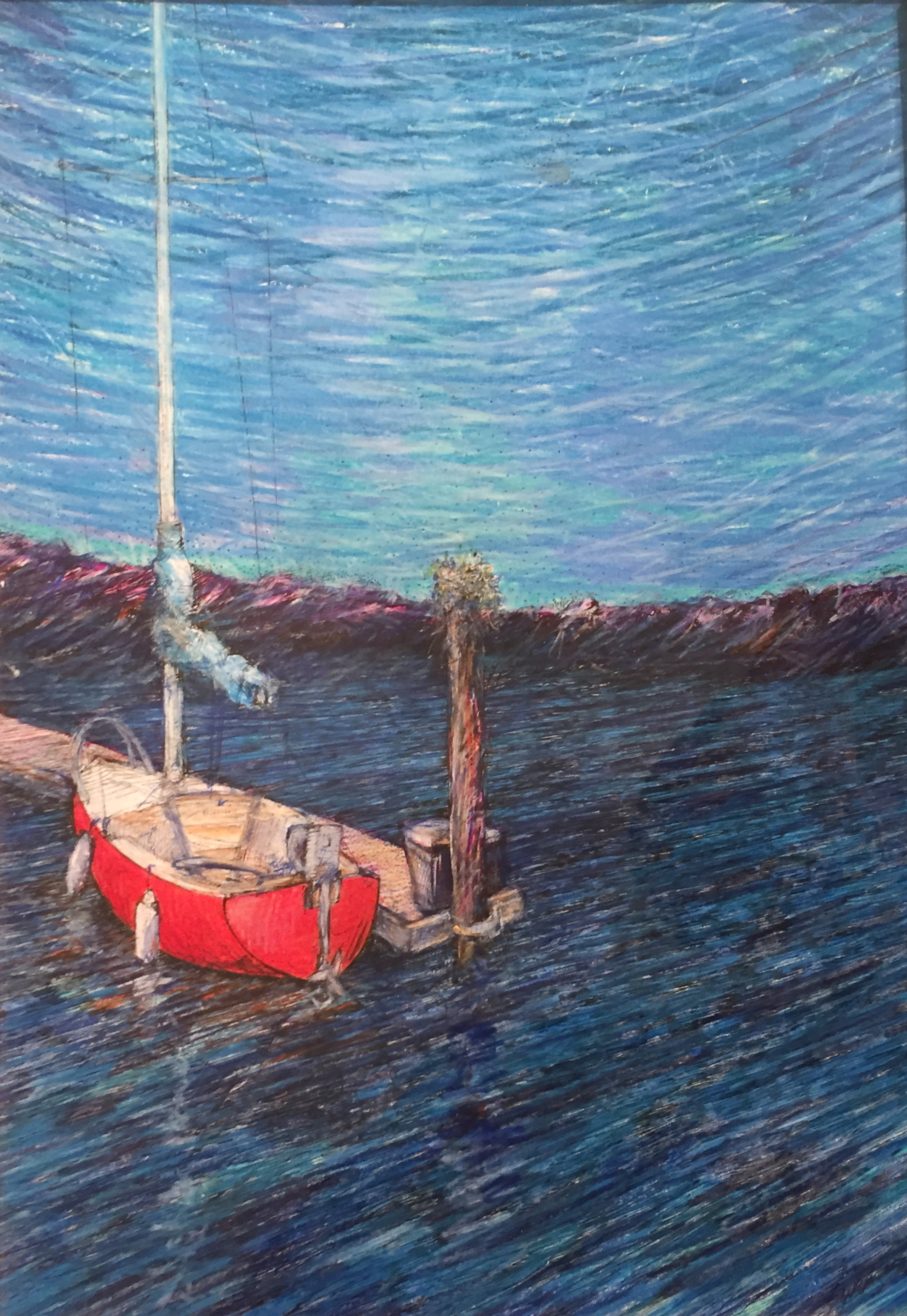 Little Red Boat   Gordon Swanson