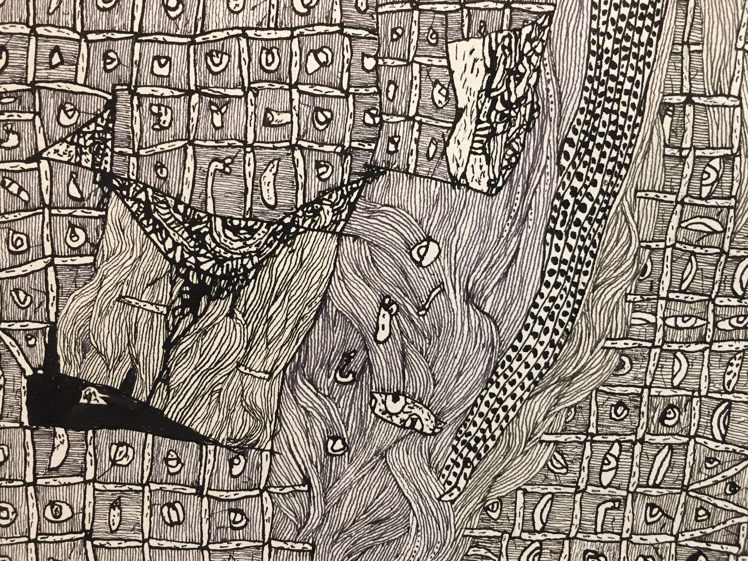 La Petite Moustique   (detail)