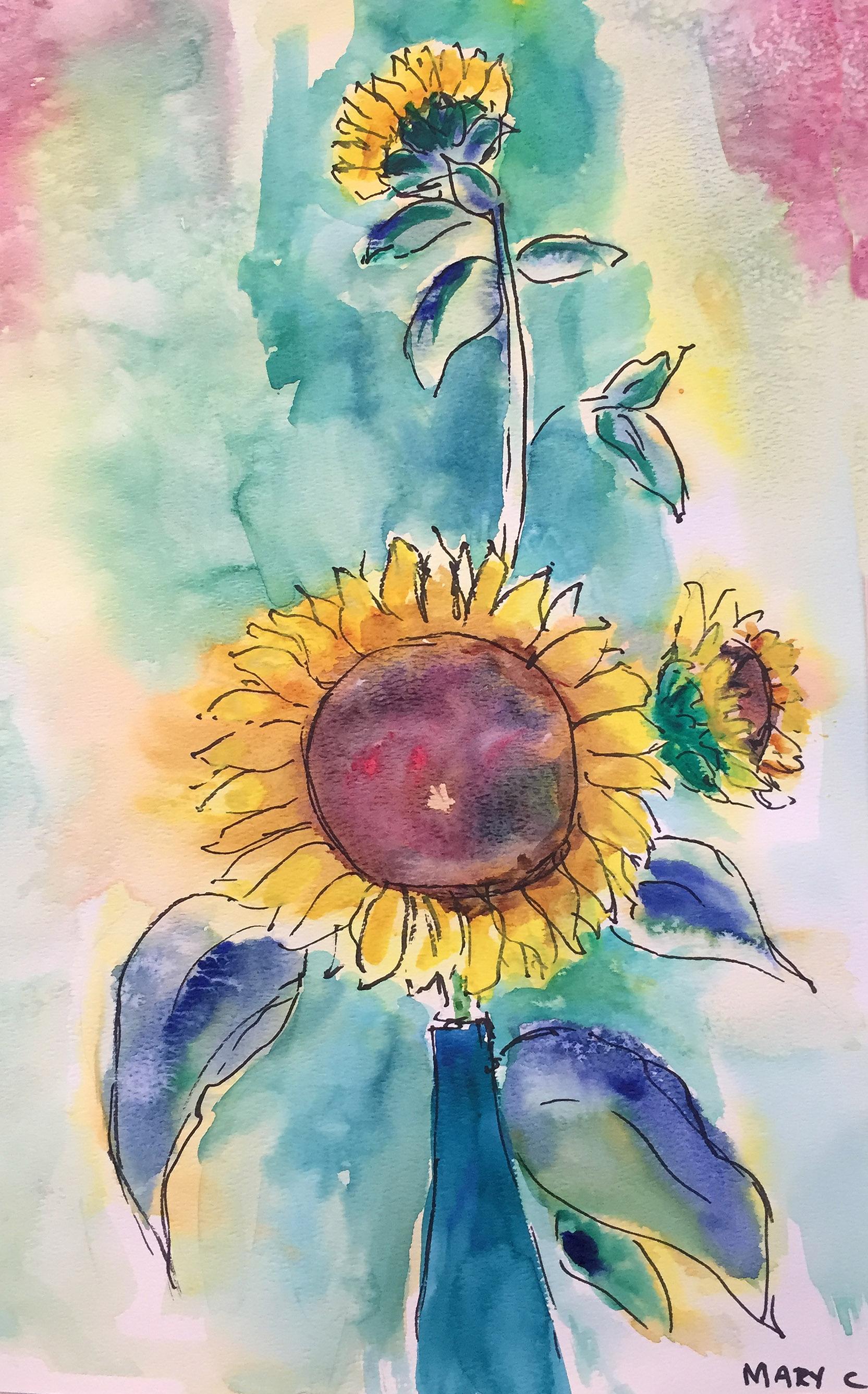 Sunflower Mary Carey.JPG