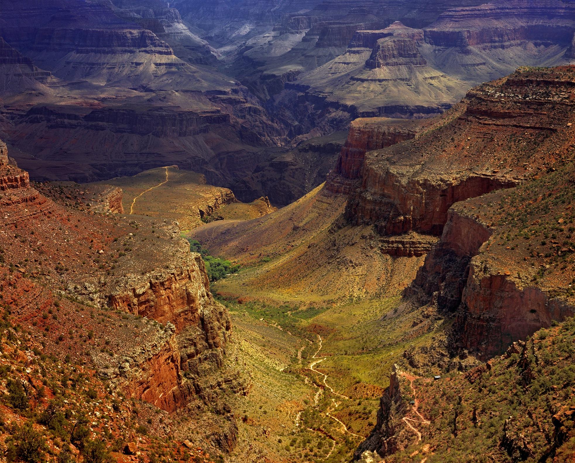 Bright Angel Trail-Grand Canyon   Brian Carman
