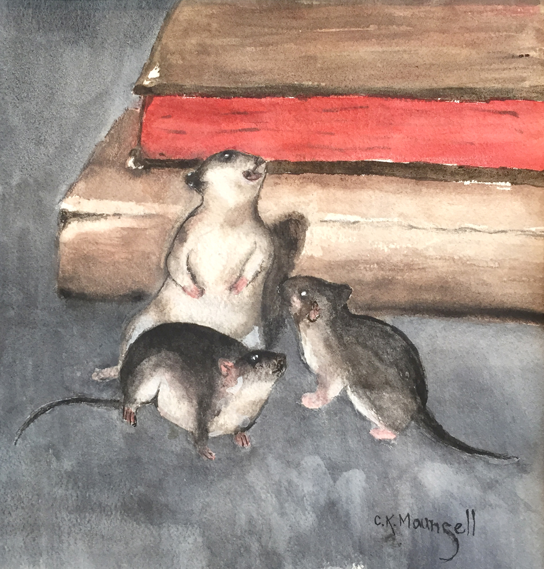 Three Rats   Kelly Maunsell