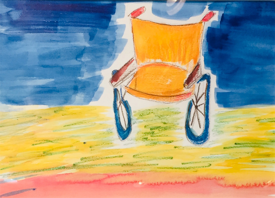 My Mothers Wheelchair   Anne Gurry Hoddersen