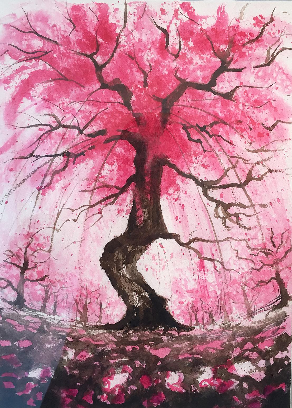 Pink Rain   Zoee Xiao