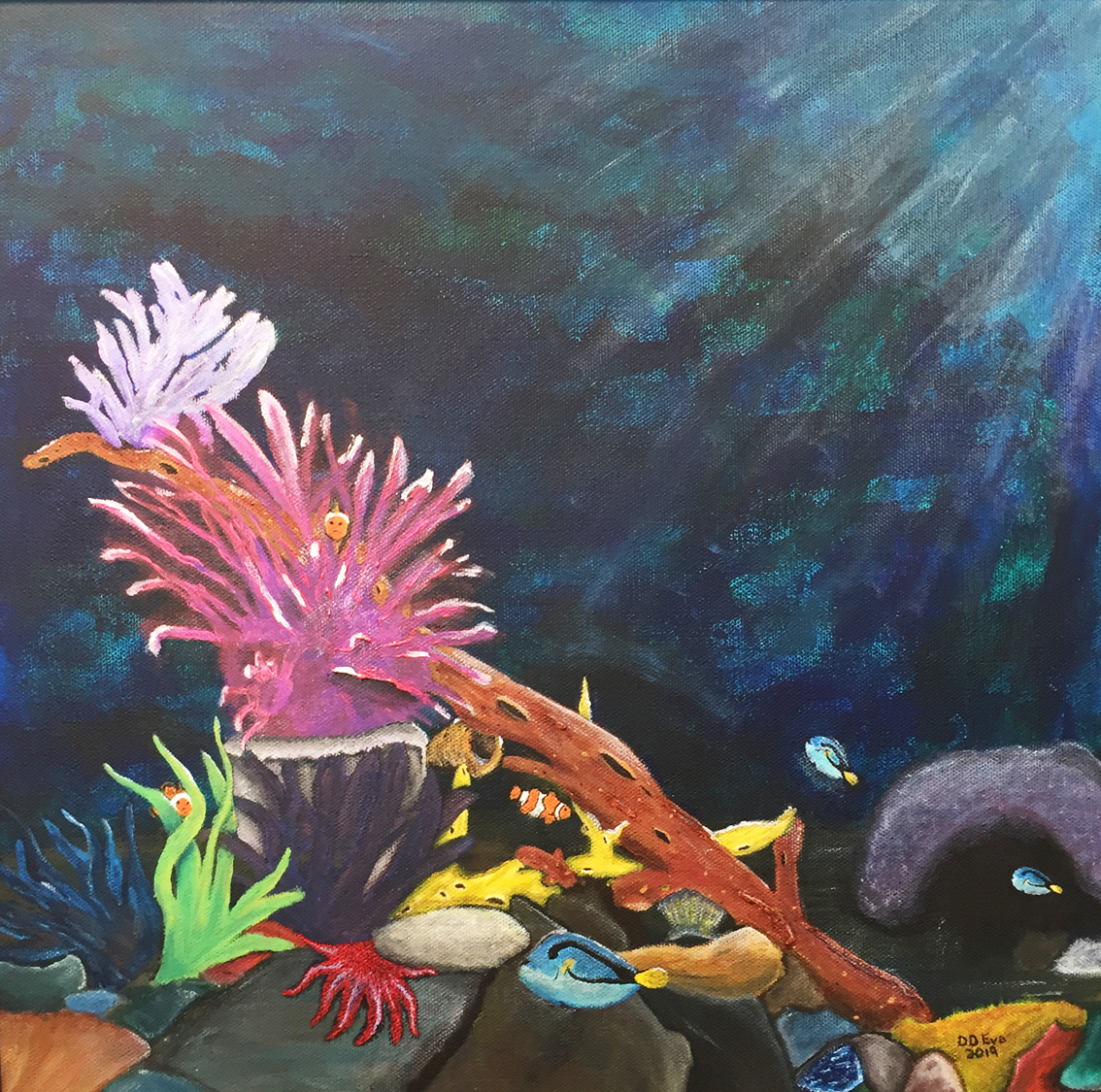 Neptune's Garden   Dorian Delagrange