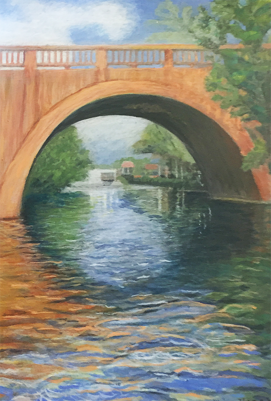 Coral Gables Waterway from Rowboat   Elaine Thomas