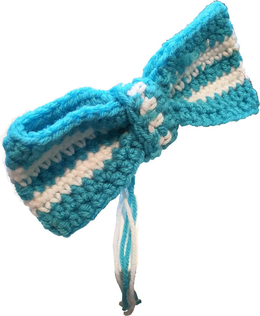 Knit Bow  Mali Hira