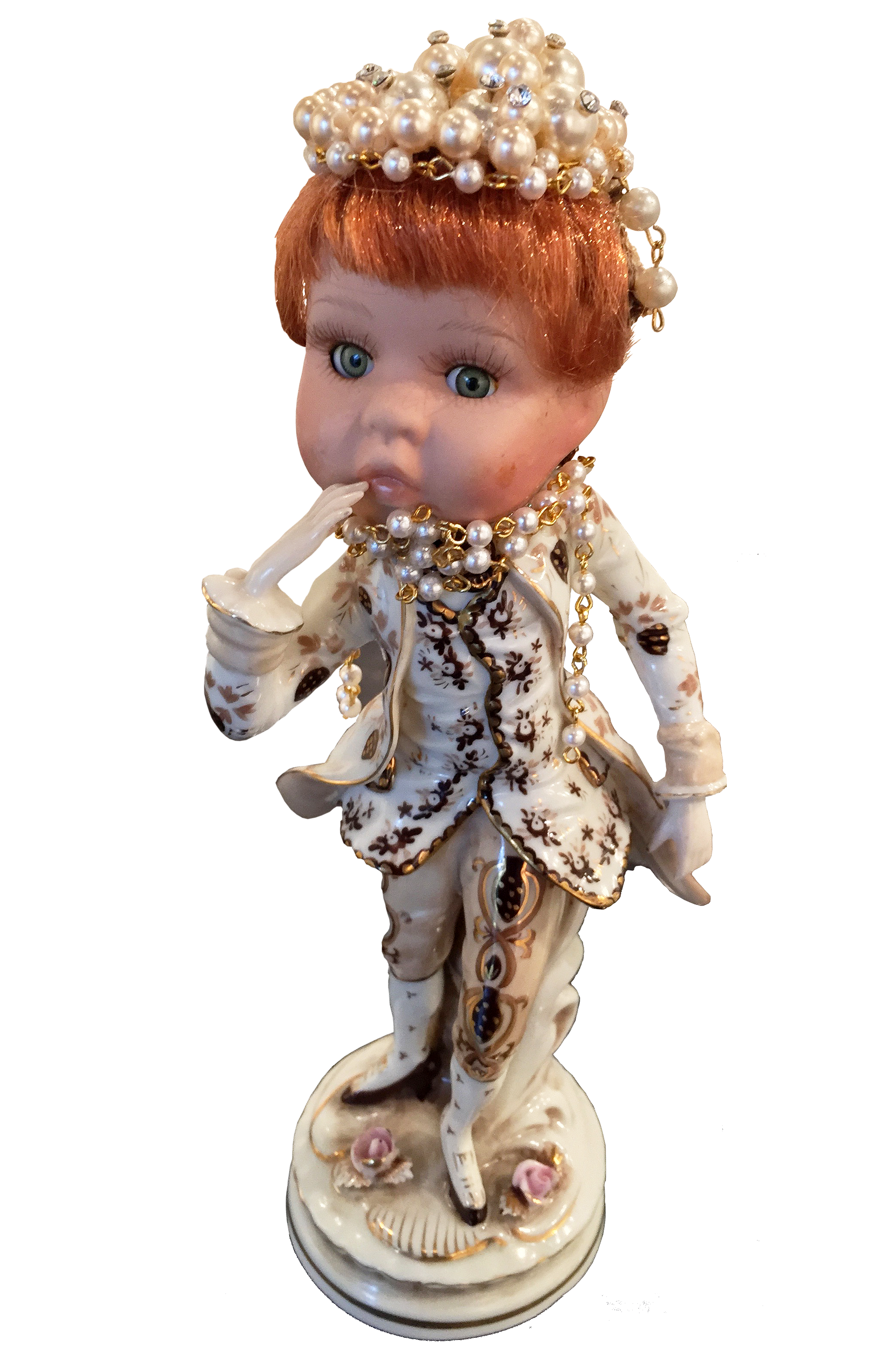 Wolfgang von Doll Head   Eugenia Petty