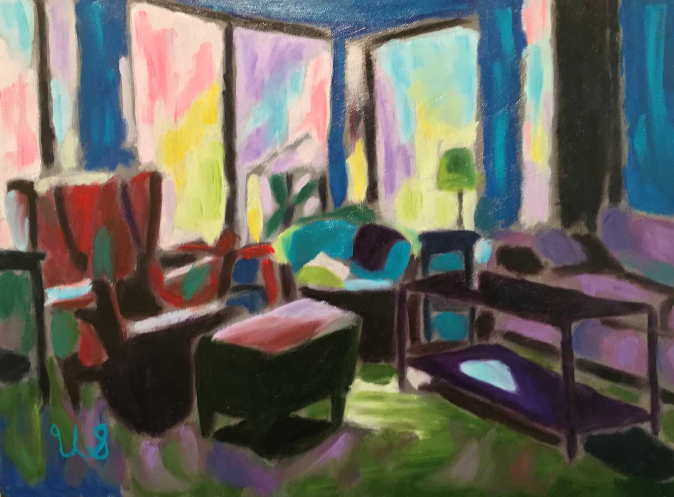 Living Room   Ursula Sahagain