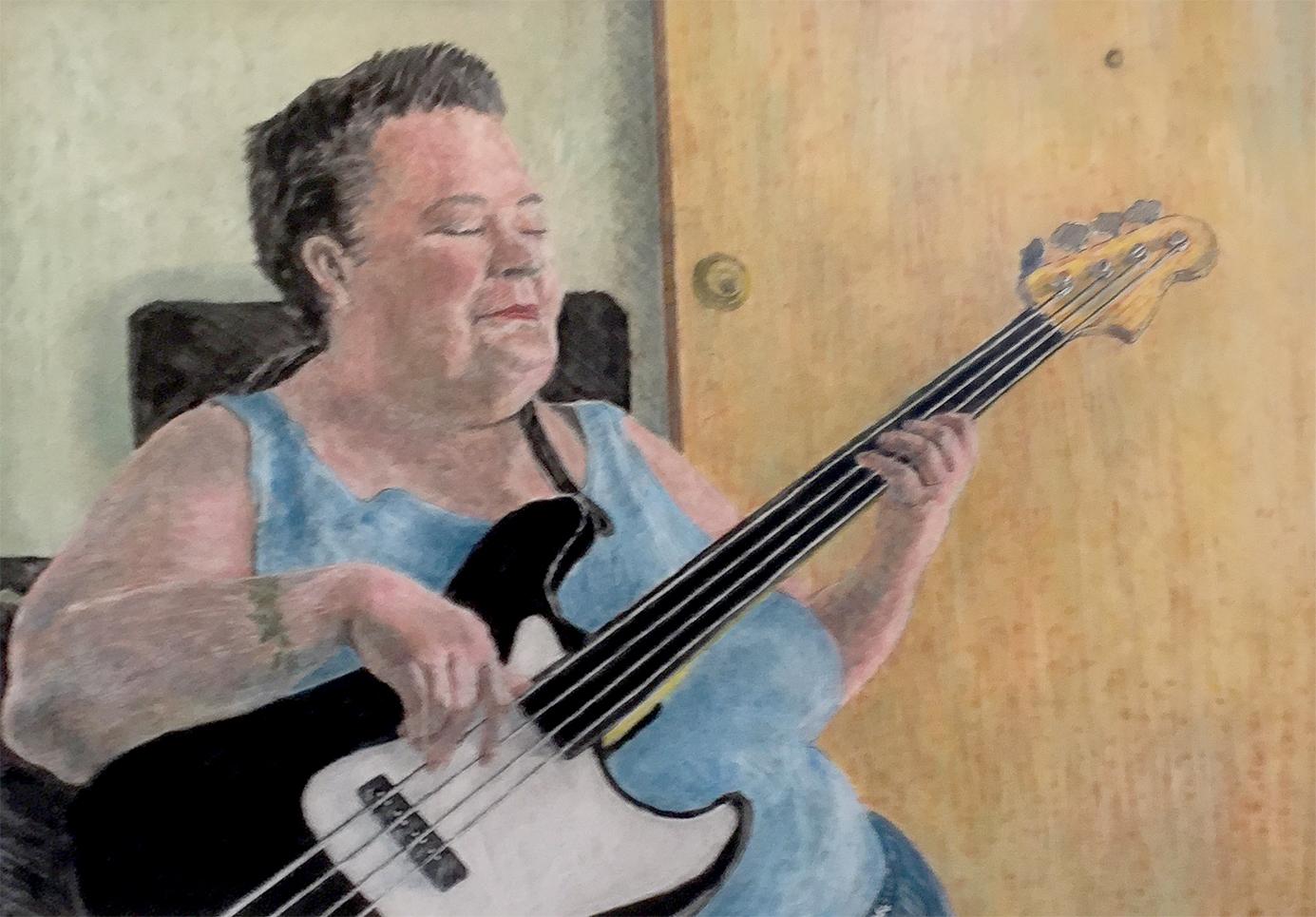 Bass Player   Tom Greggs
