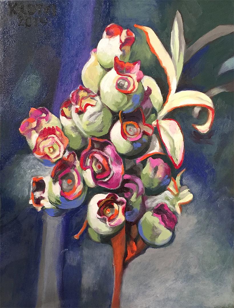Blueberry Flower-Bloom   Saul Krotki