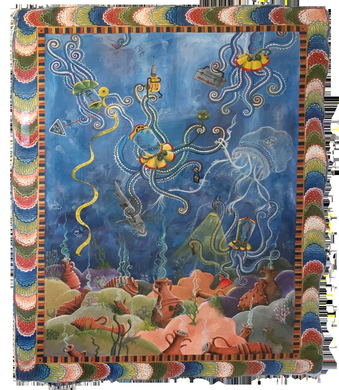 Octopus and Hasmat Team   Kree Arvanitas