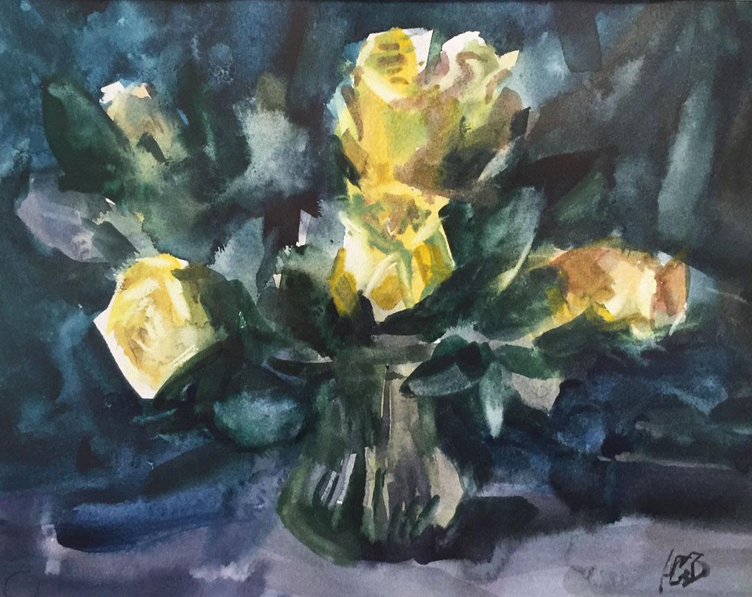 Roses   Yury Konyshev
