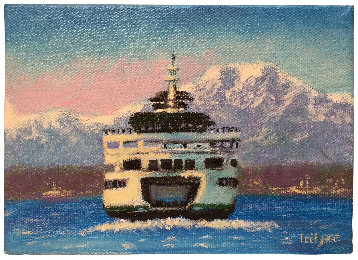 Washington State Ferry   Lena Leitzke