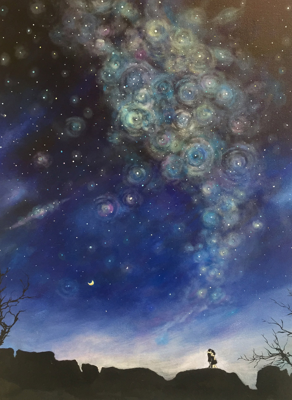Infinite Night   Mieko Hamblin