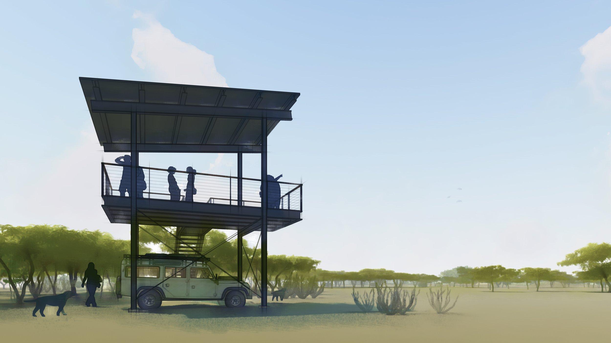 Jeff Garnett Architect_Observation Tower 00 watercolor.jpg
