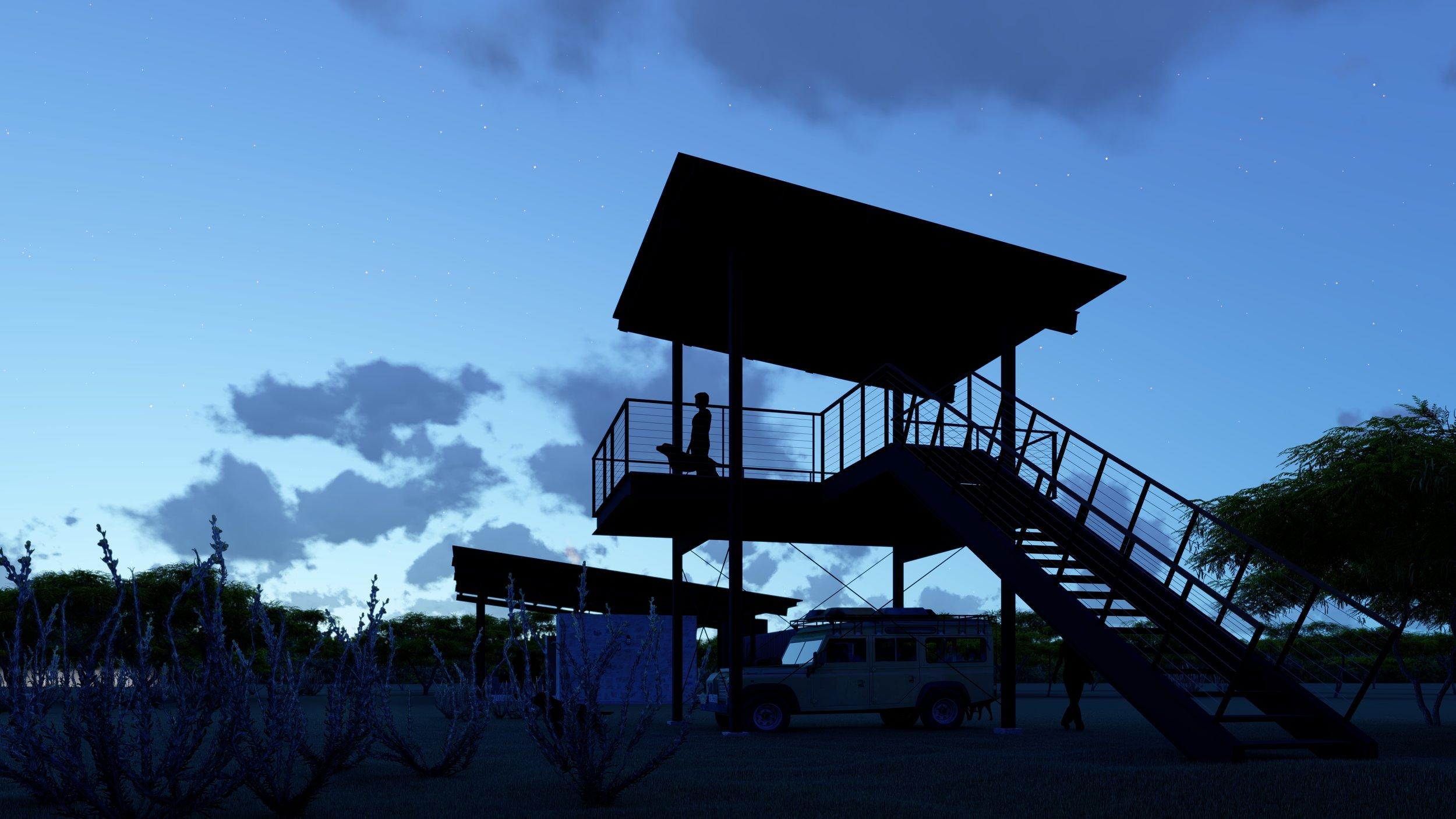 Jeff Garnett Architect_Observation Tower 02 night.jpg