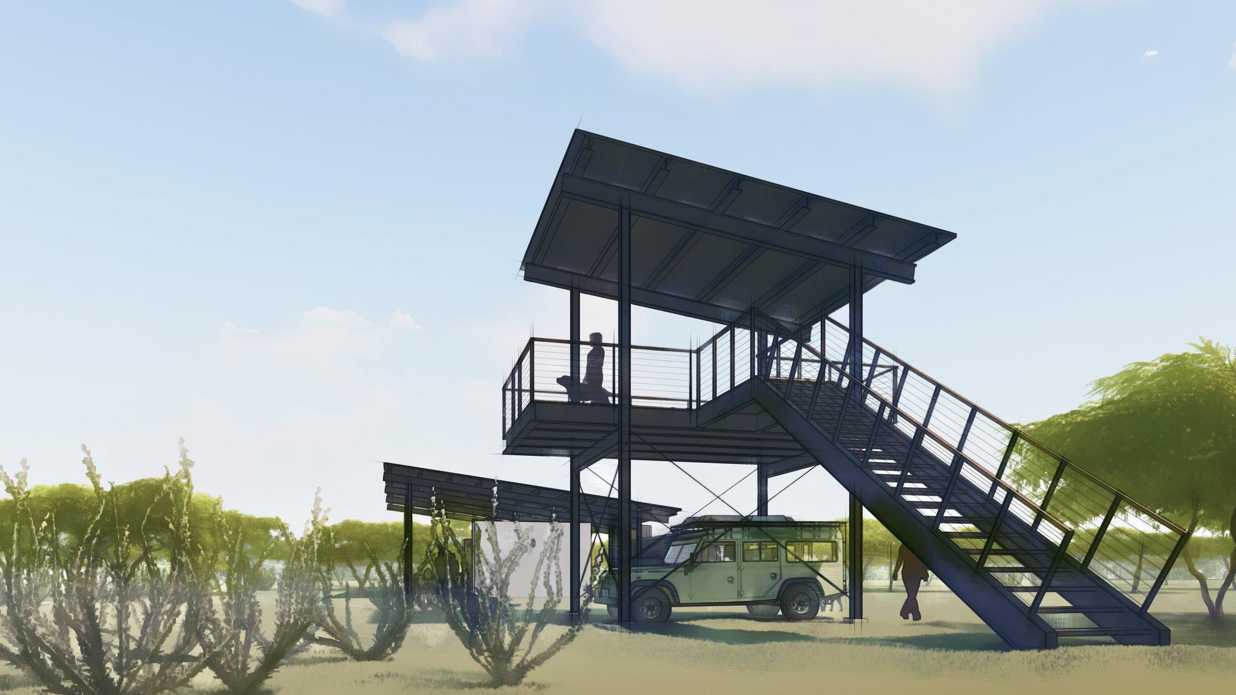 Jeff Garnett Architect_Observation Tower 02 watercolor.jpg