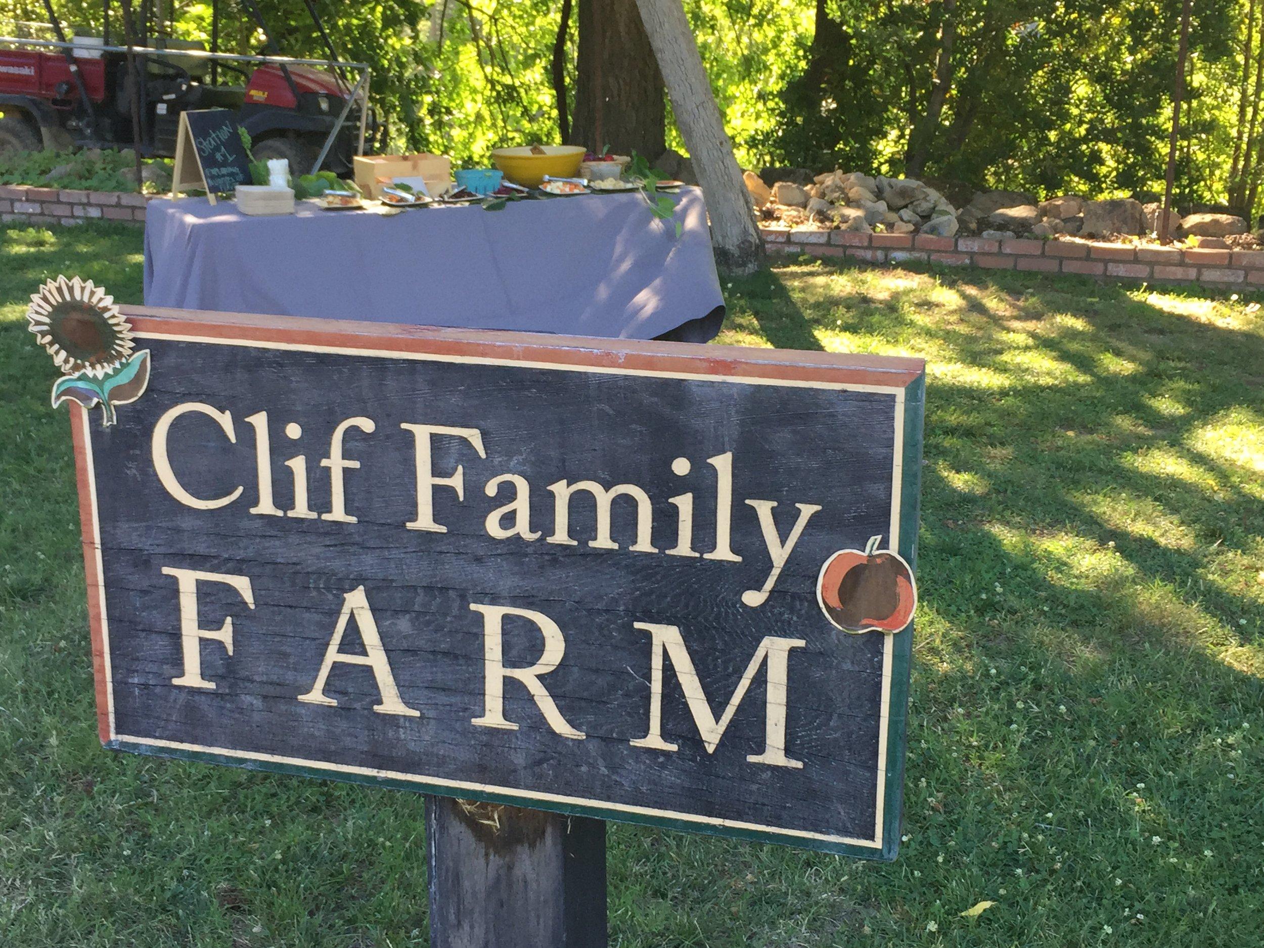 Clif Family Organic Farm in Napa