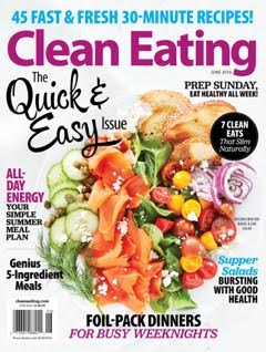 Clean Eating Magazine June 2016