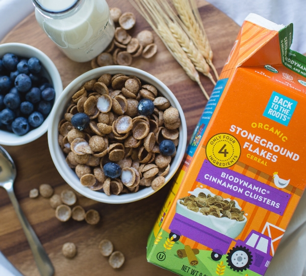 Back to the Roots biodynamic cereal