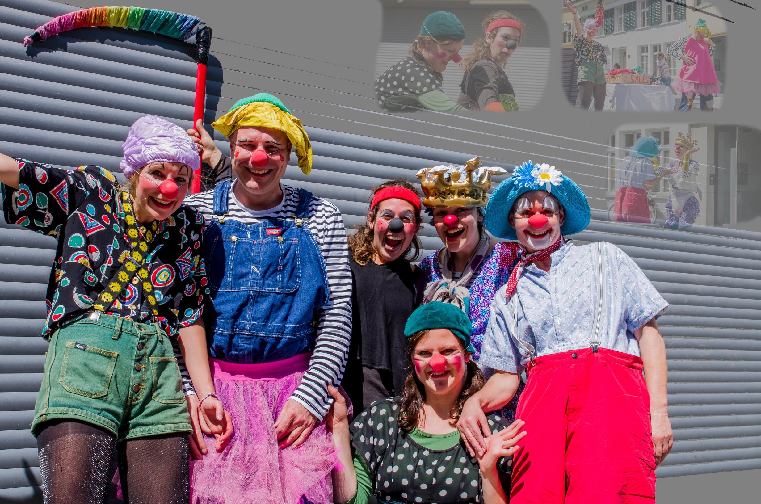Clowns bei Iovino