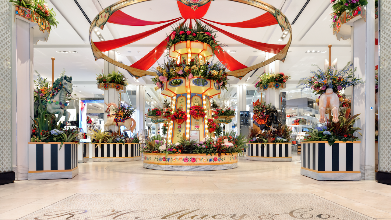 Macy's Flower Show! - March 24th-April 27th