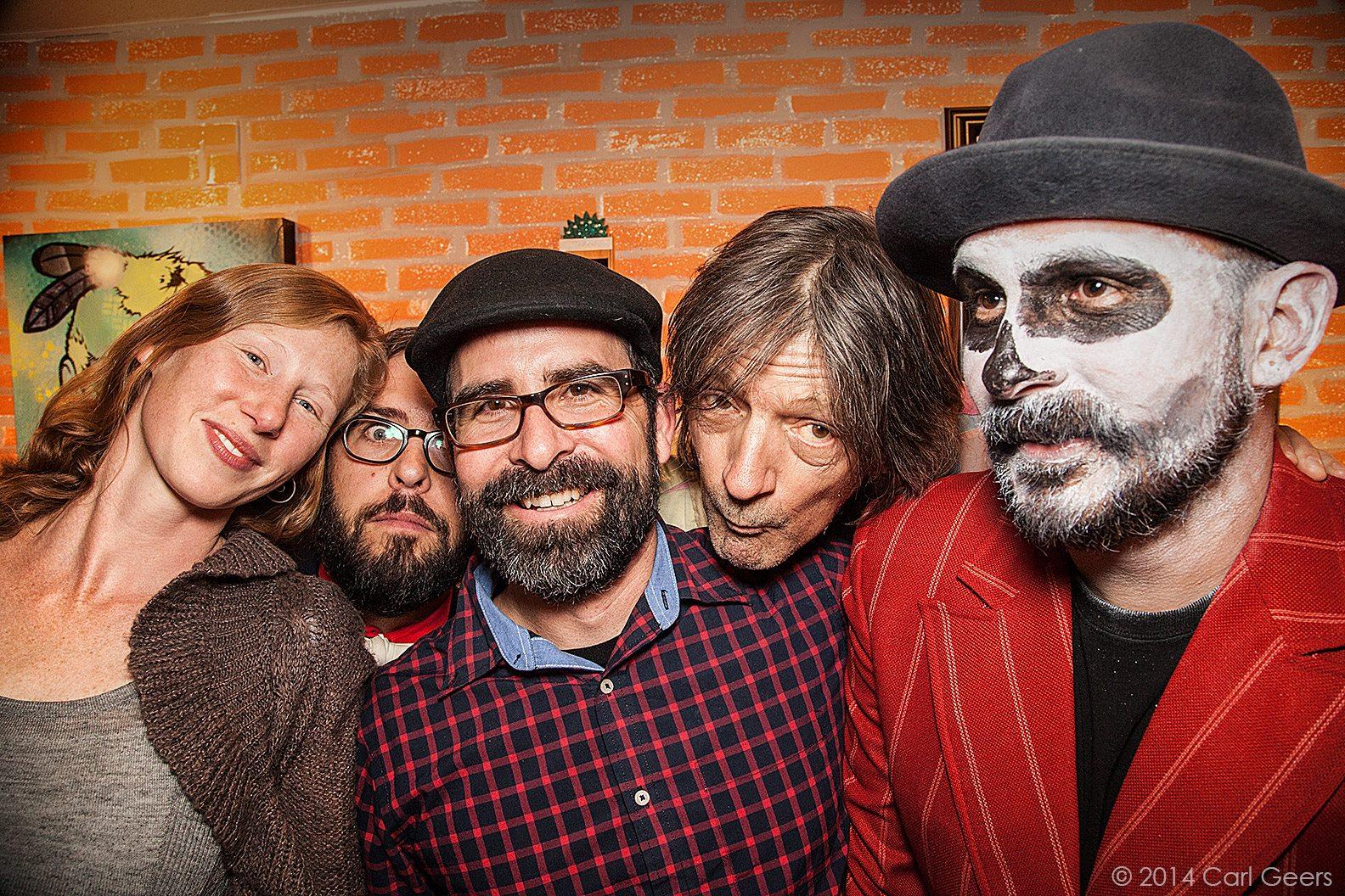 Kinahan, Kapustka, Dye, Stilson, Lopez - Circa 2014  - Photo: Carl Geers