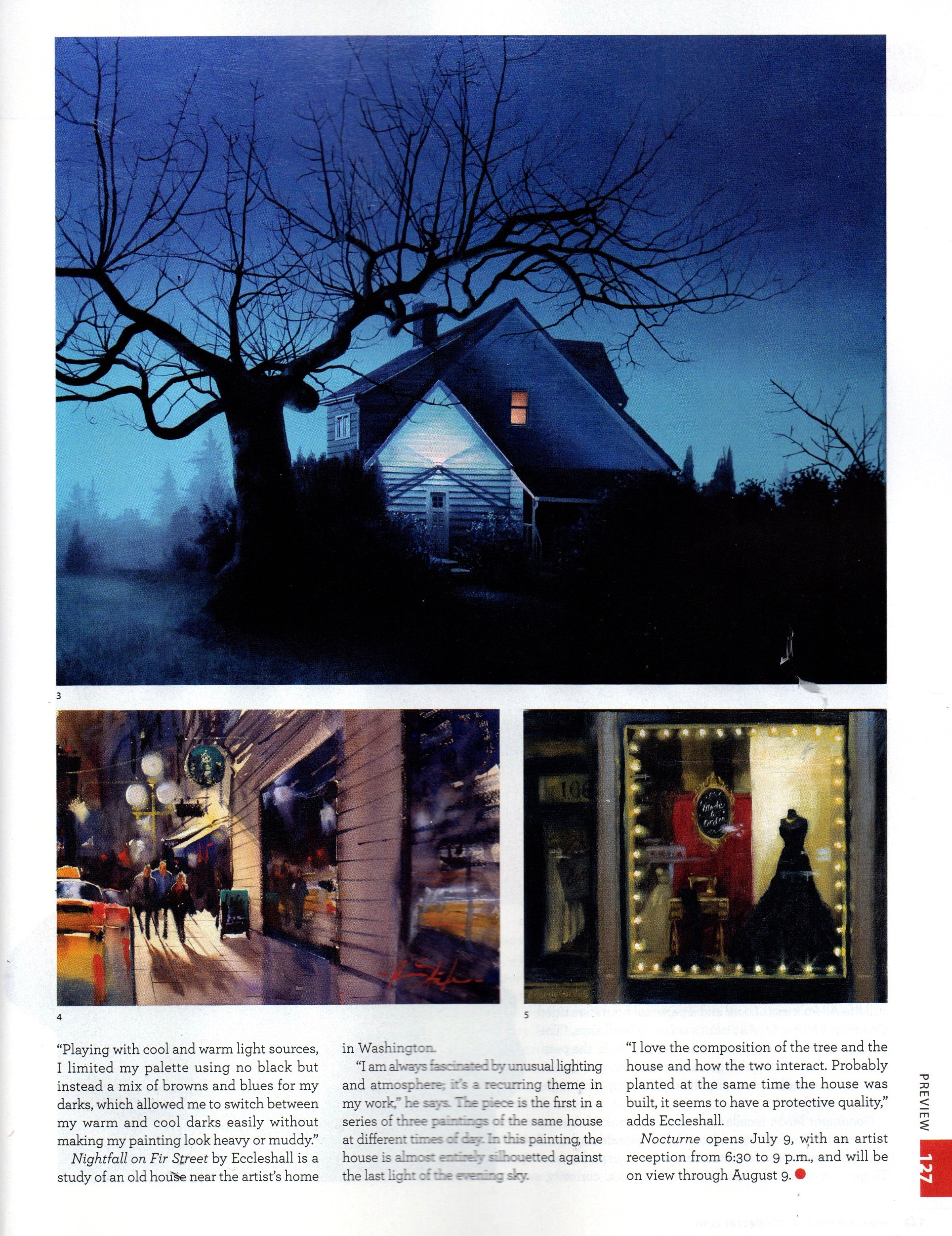 Andy Eccleshall in American Art Collector