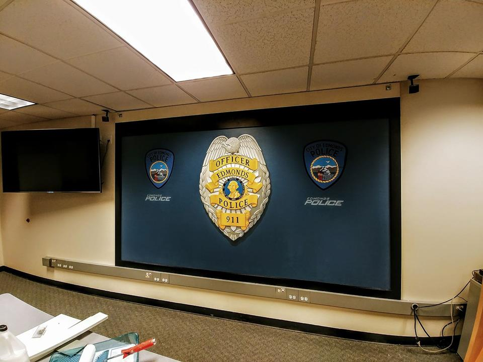 Edmonds Police Department Mural