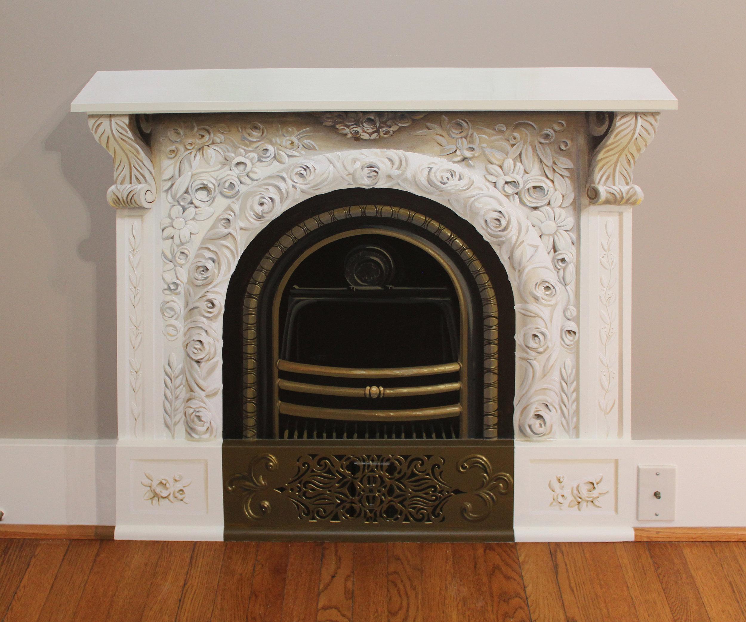 Trompe L'oeil Fireplace