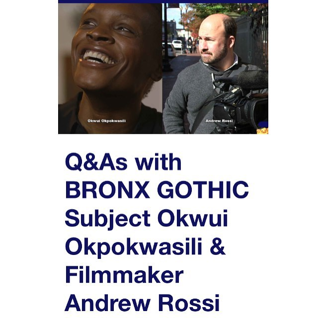 #Bronxgothic is opening at @filmforumnyc on July 12th. @a_rossi and @bornokwui will be holding Q&As after the 7pm shows on Wednesday 7/12, Friday 7/14 and Saturday 7/15  #documentary #theater #filmforum #qanda #picoftheday #comingsoon #film #premiere