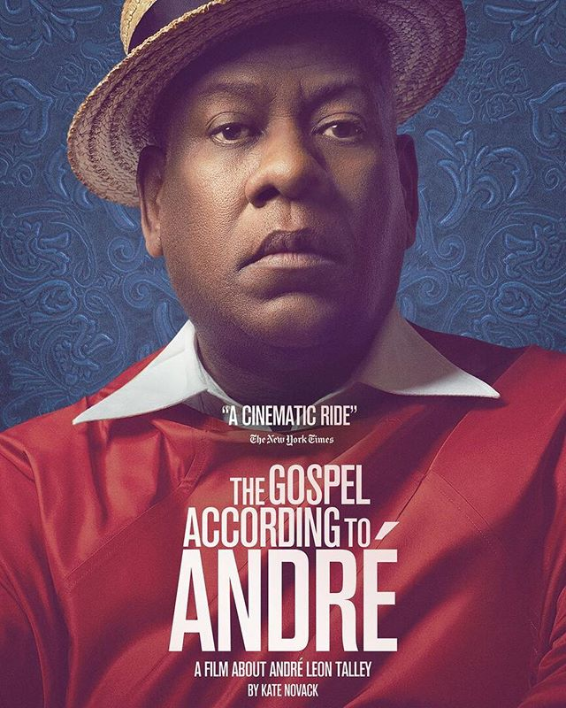 The trailer for #gospelofandre directed by @rossvack and featuring @andreltalley  is out today! Link in bio #andreleontalley #documentary #trailer #premiere #movies