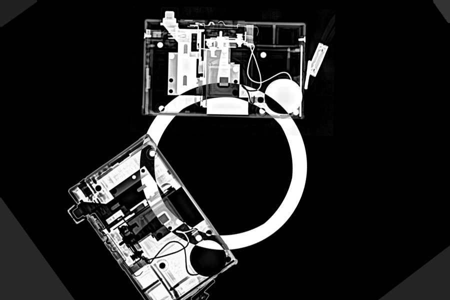 From the series 'Interrogations of a Camera' | Photogram by X-ray // © Sylvia Grace Borda