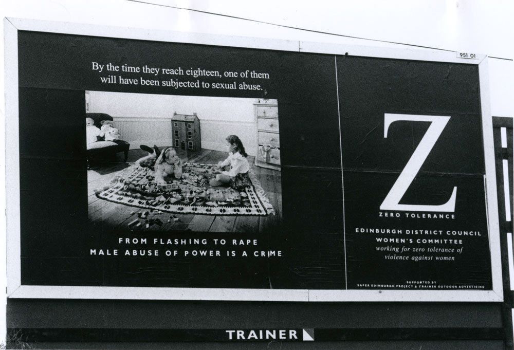 Zero Tolerance Billboard
