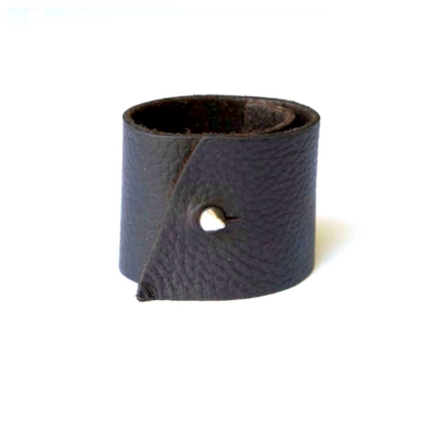 leather and spike cuff, the sublimity of simplicity