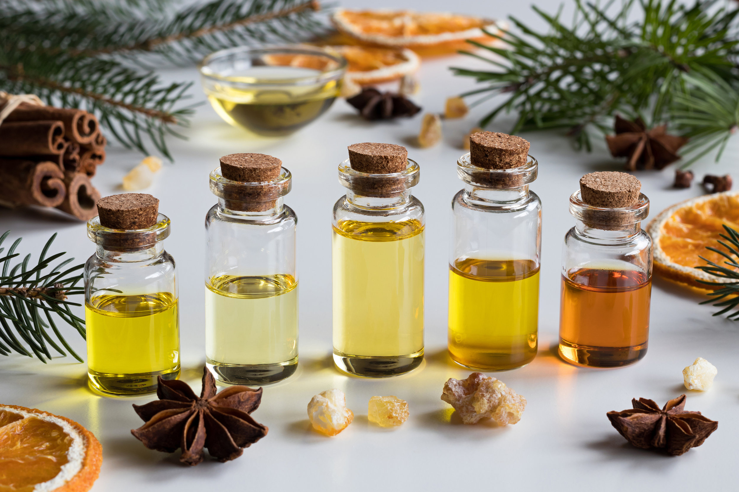 invigorate your senses - Learn the benefits of essential oils. Take part in this hands-on workshop where you create your own oil blends to target each individual's ailments.