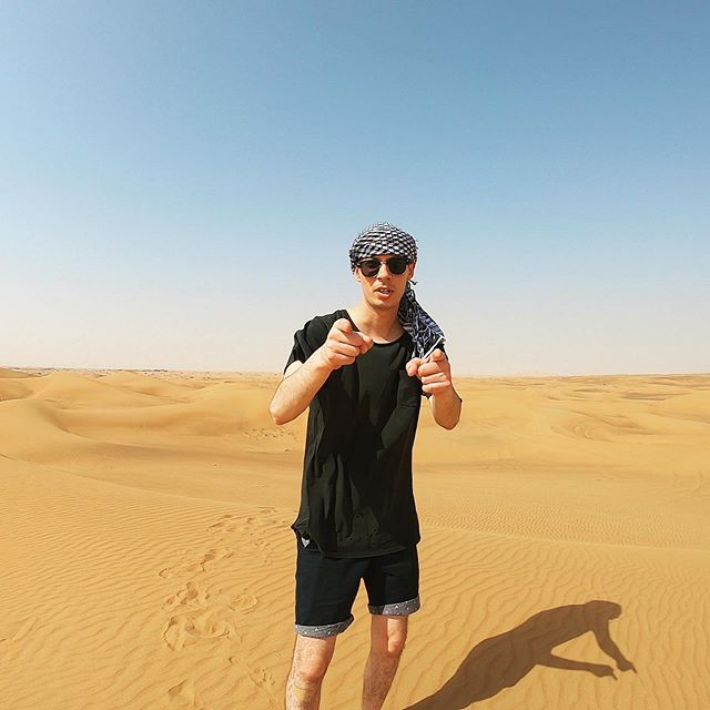 Had an amazing time in the Dubaian desert yesterday, what an experience!