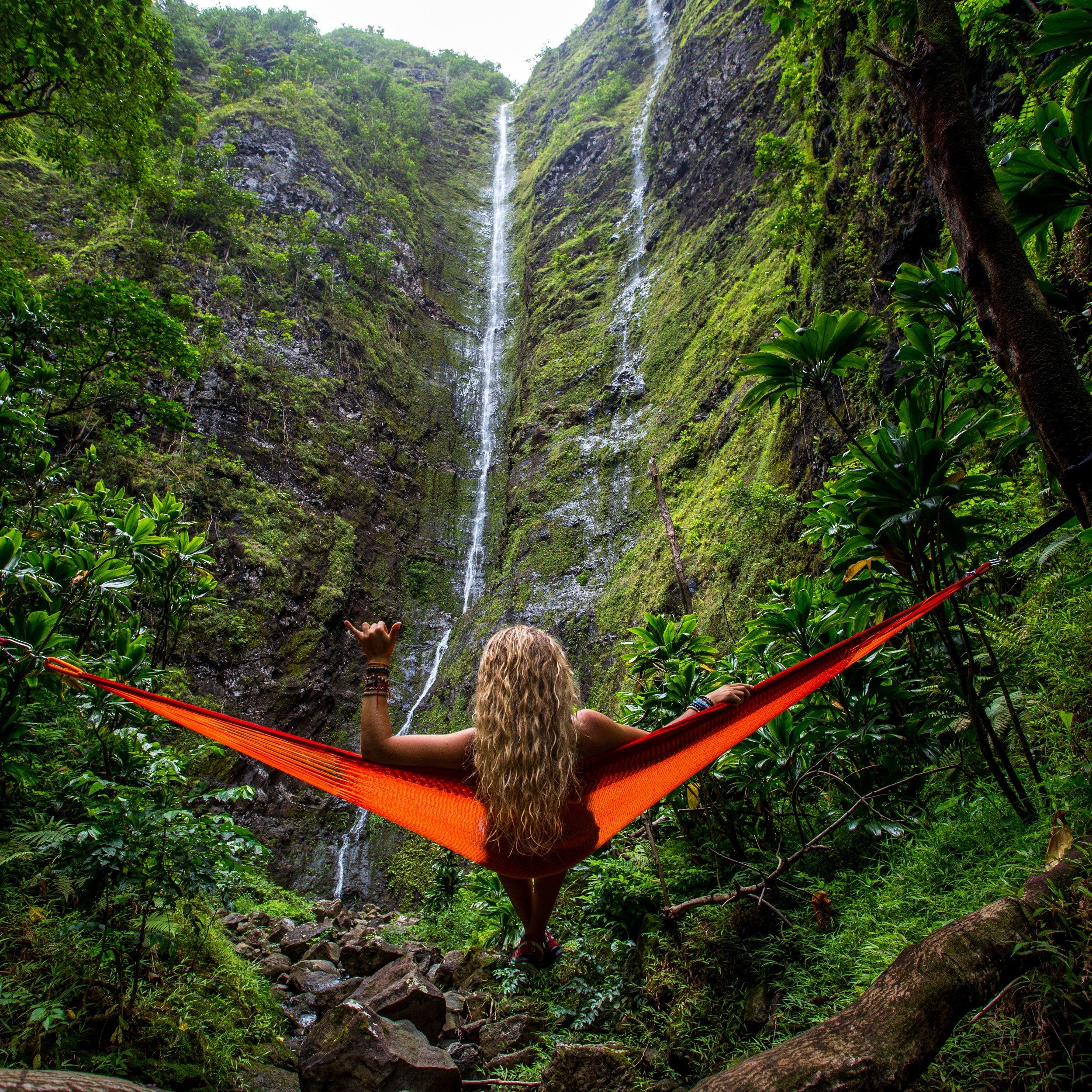 Woman on hammock looking down valley.jpg