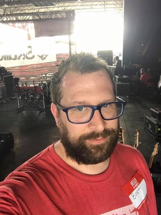 Bret Backstage